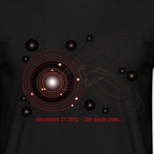 Crop Circle T-Shirt 2012 Planets - Men's T-Shirt