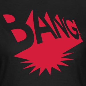 Olive Comic BANG! (explosion) Girlie - Frauen T-Shirt