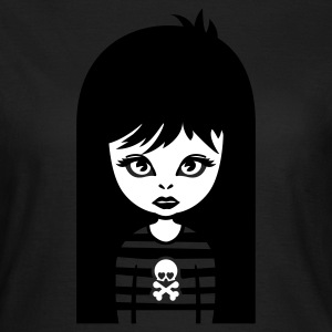 Olive bad gothic girl Girlie - Frauen T-Shirt