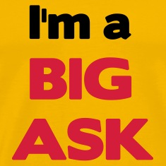 Yellow A Big Ask T-Shirts