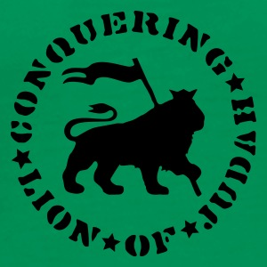 Lion Of Judah (green Comfort T) - Männer Premium T-Shirt