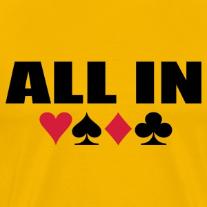 All In Shirt - Männer Premium T-Shirt