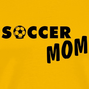 Yellow Soccer Mom T-Shirts - Men's Premium T-Shirt