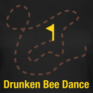 Motiv ~ NEU! Drunken Bee Dance - Girlie Shirt