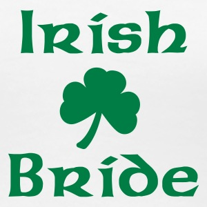 White Irish Bride Ladies' - Women's Premium T-Shirt