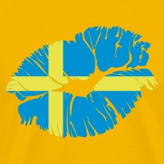 Yellow swedish kiss T-Shirts