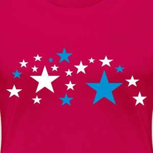 Pink Stars Ladies' - Women's Premium T-Shirt