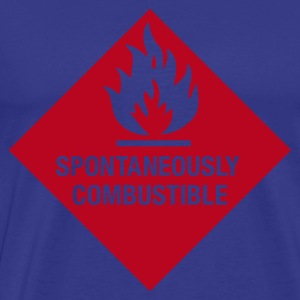 Spontaneously Combustible T-Shirt - Men's Premium T-Shirt