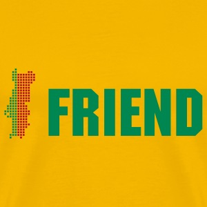 Portugal Friend - Männer Premium T-Shirt