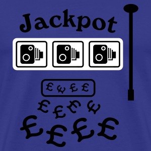 Speed Camera Jackpot T-Shirt - Men's Premium T-Shirt