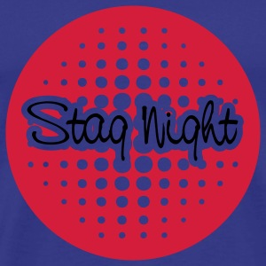 Sky stag night T-Shirts - Men's Premium T-Shirt
