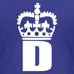 Aqua D - Crown - Letters Ladies' - Women's Premium T-Shirt