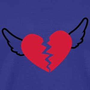 Sky Broken Heart T-Shirts - Men's Premium T-Shirt