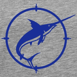 Ash Sword Fish T-Shirts - Men's Premium T-Shirt