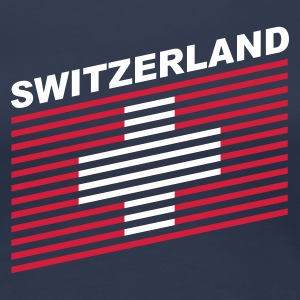 Navy switzerland Girlie - Frauen Premium T-Shirt