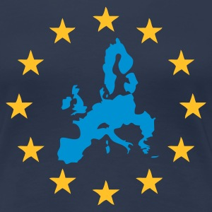 Navy Europe - European Union Ladies' - Women's Premium T-Shirt