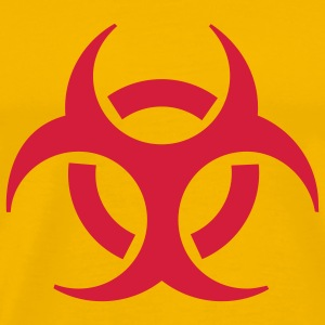 Yellow biohazard T-Shirts - Men's Premium T-Shirt