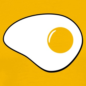 Yellow egg_2col_yellow_t_11 Men's Tees (short-sleeved) - Men's Premium T-Shirt