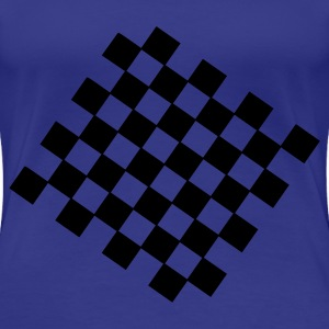 Aqua Chess Women's Tees (short sleeved) - Women's Premium T-Shirt