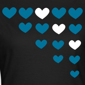 hearts - Frauen T-Shirt
