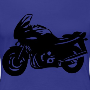 Aqua Motorbike - Motorcycle Women's Tees (short sleeved) - Women's Premium T-Shirt