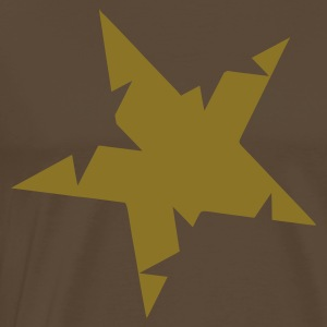Brown Unique Star T-Shirts - Men's Premium T-Shirt