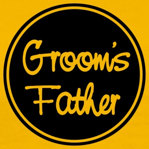 Yellow groom's father T-Shirts - Men's Premium T-Shirt