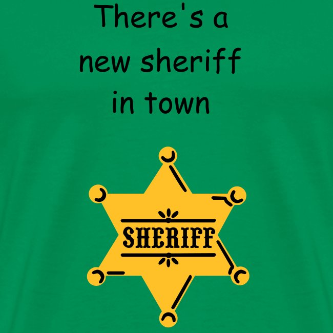 New sheriff in town..