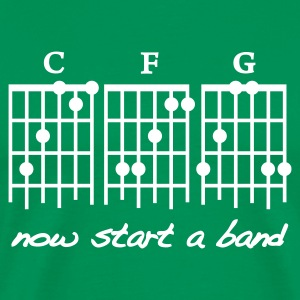 Bottlegreen Start a Band T-Shirt - Männer Premium T-Shirt