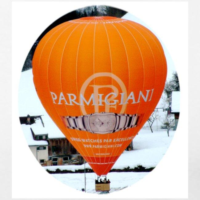 Hot Air Balloon at Chateau-d'oex Women's T shirt