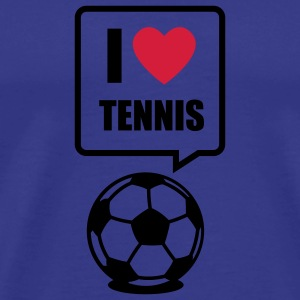 Sky I love Tennis T-Shirts - Men's Premium T-Shirt