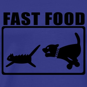 Sky Fast Food Dog and Cat T-Shirts - Men's Premium T-Shirt