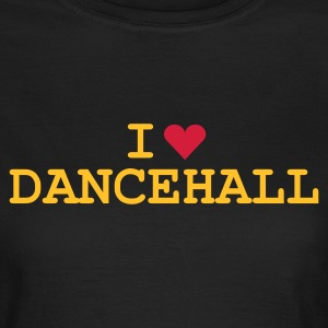 Olive love_dancehall Girlie - Vrouwen T-shirt