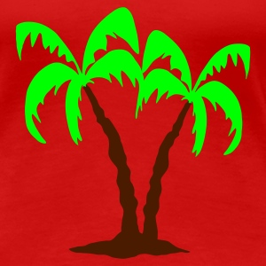 Tropical - Women's Premium T-Shirt