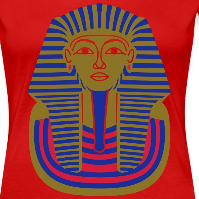 Tutankhamun Mask (Metallic Gold Flex)