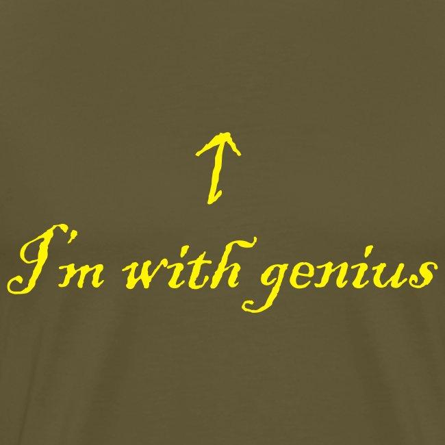 I'm with genius