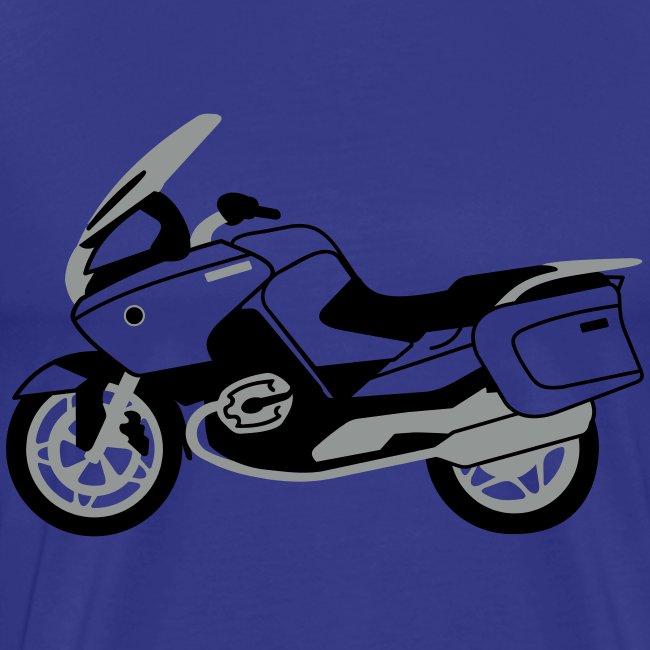 R1200RT Black Lowers (Royal Blue)