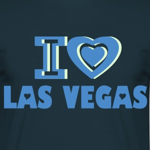 I LOVE LAS VEGAS T-SHIRT - Men's T-Shirt