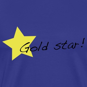 Sky gold star T-Shirts - Men's Premium T-Shirt