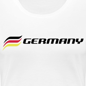 GER 3 Stripes - Frauen Premium T-Shirt