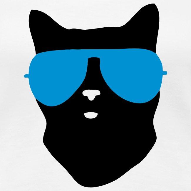 Cool cat tee