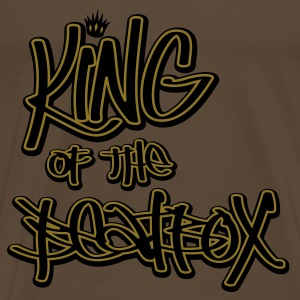 Brown King of the Beatbox T-Shirts - Men's Premium T-Shirt