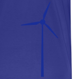 Sky Wind wheel for renewable energies Heren t-shirts - Mannen Premium T-shirt