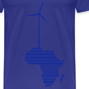 Sky Wind wheel for renewable energies T-Shirts - Men's Premium T-Shirt