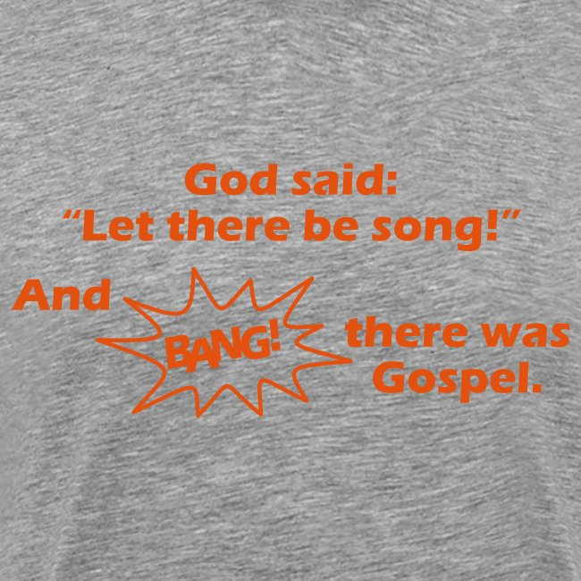 Let there be song!