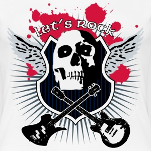 lets_rock T-Shirts - Women's Premium T-Shirt