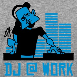 DJ - Men's Premium T-Shirt