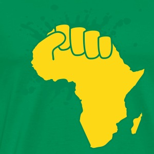 Bottlegreen the power of africa T-Shirt - Männer Premium T-Shirt