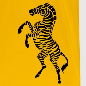 Yellow zebra Men's Tees - Men's Premium T-Shirt