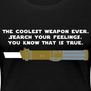 Schwarz Star Wars: Weapon T-Shirts - Frauen Premium T-Shirt